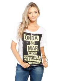 T-Shirt Onda do Mar